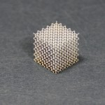 3D-System ProX 100 printed cube