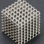 3D-System ProX 200 printed cube