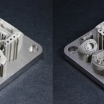 3D-System ProX 300 printed parts