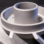 3D-System ProX 300 printed part