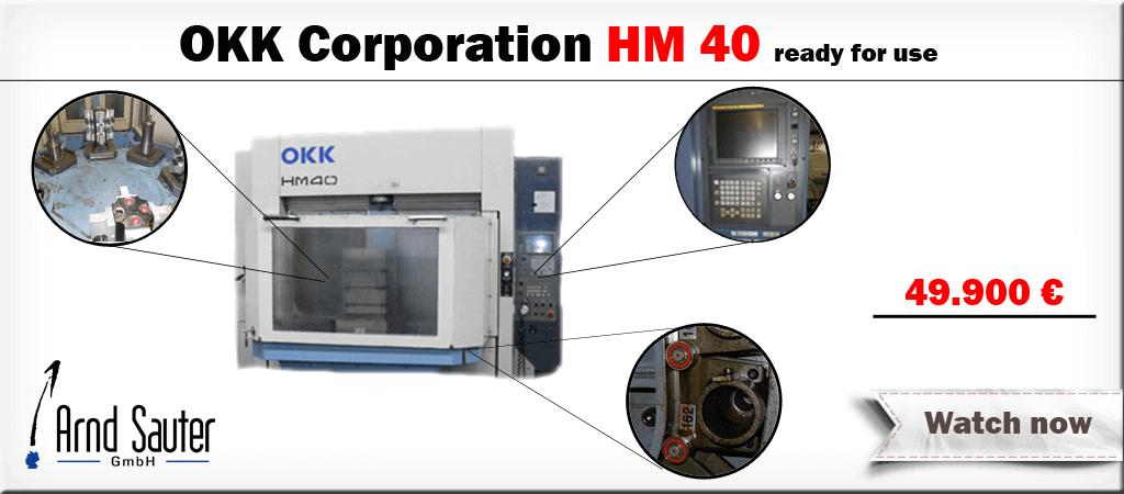 OKK Corporation HM40